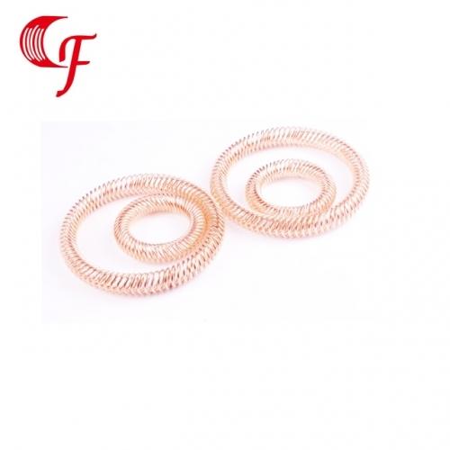 斜圈弹簧的制作材料有哪些要求?